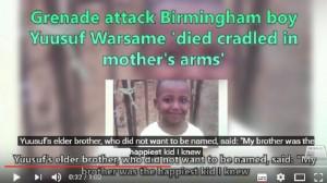 Guarda la versione ingrandita di Goteborg: granata in casa, muore bimbo 8 anni. Faida gang somale