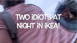 "YOUTUBE ""Due idioti di notte all'Ikea"": video virale, due ragazzi belgi riescono a..."