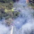 YOUTUBE Roma, incendio a Monte Mario: sgombero struttura anziani FOTO