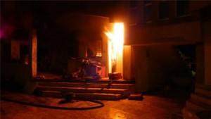 Guarda la versione ingrandita di Baghdad, incendio ospedale: muoiono 12 neonati