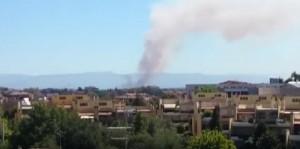 YOUTUBE Roma: incendio a Torrespaccata e un altro a Magliana