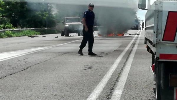 YOUTUBE Carnate: Marco Piccarreta morto. Schianto moto-auto3