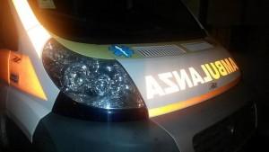Torino, scende dall'auto per cambiare gomma. Travolto e ucciso (foto Ansa)