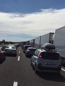 Incidente stradale sull'A14: morto motociclista, lunghe code