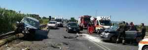 Terracina (Latina): incidente stradale, 5 feriti gravi