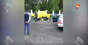Guarda la versione ingrandita di YOUTUBE Isis in Russia: assalto a stazione polizia con pistole e accette