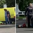 YOUTUBE Isis in Russia: assalto a stazione polizia con pistole e accette4