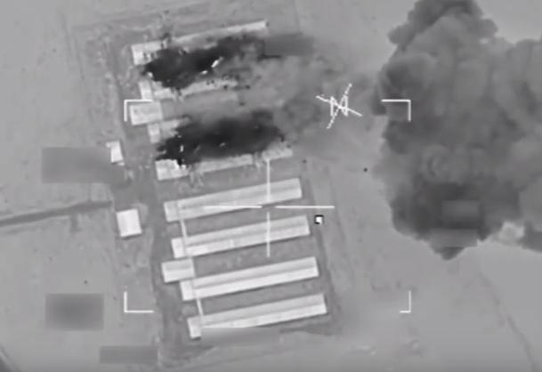 YOUTUBE Isis, raid Usa fa saltare in aria fabbrica veicoli bomba