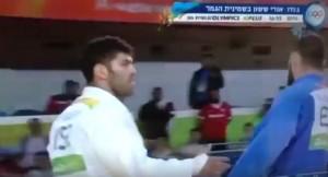 YOUTUBE Islam el-Shehaby judoka egiziano, no mano a israeliano Or Sasson
