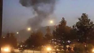 Guarda la versione ingrandita di Kabul: università americana sotto attacco. Esplosione e spari