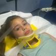 Bimba di 8 anni resta quasi impiccata su una parete da arrampicata3