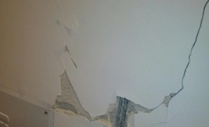 L'Aquila: crepe nelle case ristrutturate dopo terremoto FOTO