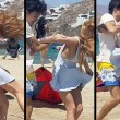 Lindsay Lohan aggredita in spiagga da Egor Tarabasov6