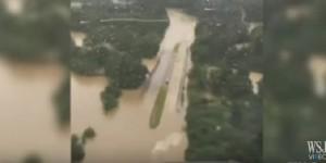 Guarda la versione ingrandita di YOUTUBE Louisiana alluvione: 20mila sfollati, morti