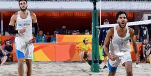 Daniele Lupo e Paolo Nicolai, argento nel beach volley. Vince Brasile