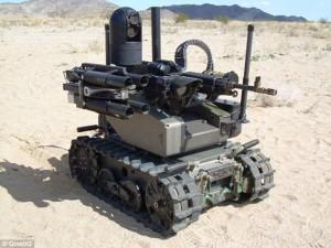 Robot Maars arma del futuro: spara, distrugge, soccorre
