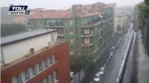 Maltempo da Milano a Pisa: bombe d'acqua e trombe d'aria VIDEO