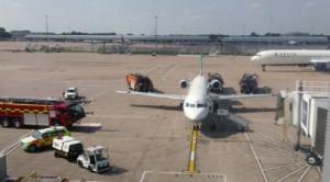 Manchester City, fumo da aereo: squadra fatta scendere