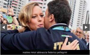 """Rio 2016. Federica Pellegrini, Rossella Fiamingo: """"Ora abbiamo la certezza che gli abbracci di Renzi sono fatali"""""""