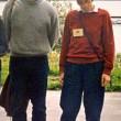 Angela Merkel e il marito nel 1992