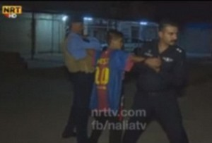 Baby-kamikaze con maglia Messi fermato a Kirkuk