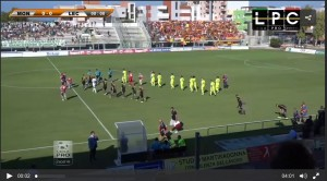 Monopoli-Lecce 1-2: highlights Sportube su Blitz