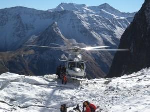 Guarda la versione ingrandita di Monte Rosa: due alpinisti morti, precipitati da Cresta del Breithorn (foto d'archivio Ansa)