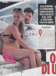 Rio 2016, Aldo Montano si consola con la sua bella Olga Plachina...incinta