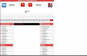 Napoli-Milan diretta. Formazioni ufficiali - video gol highlights