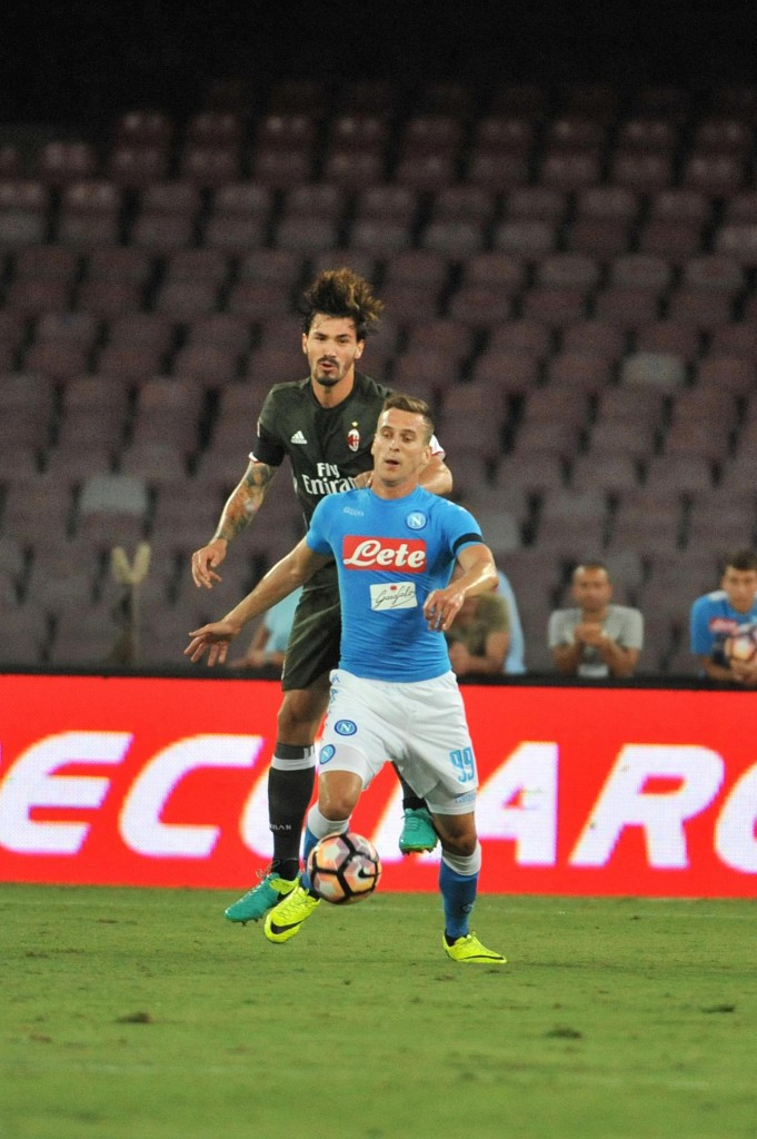 Soccer: Serie A; Napoli-Milan