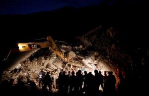 Terremoto Amatrice: drone Vigili del Fuoco, le riprese notturne