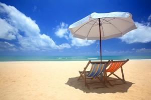 Guarda la versione ingrandita di Ombrelloni in spiaggia