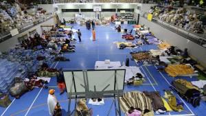 Guarda la versione ingrandita di Terremoto: salvarsi la vita si può, ma chi paga? Quel palazzetto... (nella foto Ansa, il palazzetto dello Sport di Amatrice)