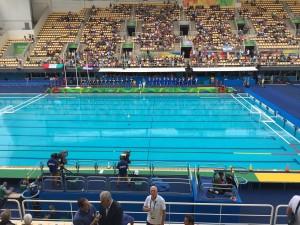 Guarda la versione ingrandita di Rio 2016, Pallanuoto Italia-Francia 11-8, primi nel girone