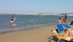 Ancona, divieto di balneazione alla Palombina