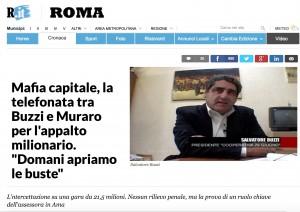 Paola Muraro-Salvatore Buzzi: telefonate per appalto Ama nelle intercettazioni di Mafia Capitale