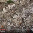 YOUTUBE Pescara dal Tronto vista dal drone dopo il terremoto