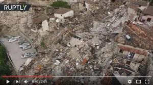 Guarda la versione ingrandita di YOUTUBE Pescara dal Tronto vista dal drone dopo il terremoto
