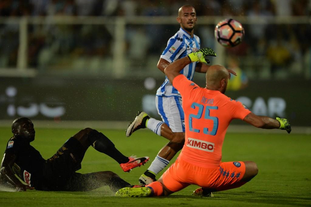 Soccer: Serie A; Pescara-Napoli