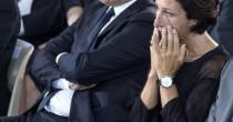 Ai funerali il lungo <br /> pianto di Agnese Renzi