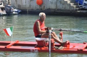 Guarda la versione ingrandita di Pio Schiano, 97 anni, il bagnino più longevo d'Italia