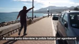 """Franco Sibilia, poliziotto insulta migranti: """"Ho perso la testa ma..."""""""