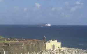 Porto Rico, incendio in nave crociera