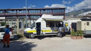 Guarda la versione ingrandita di Poste Italiane: uffici postali mobili nelle zone del terremoto