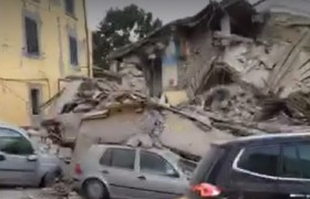 VIDEO Terremoto centro Italia: case crollate, macerie…