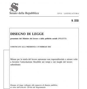 Riforma del lavoro autonomo: ecco il testo approvato dalla Commissione Lavoro al Senato