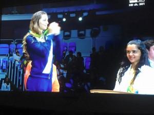Guarda la versione ingrandita di Rio 2016, Rossella Fiamingo argento nella spada. Prima medaglia Italia