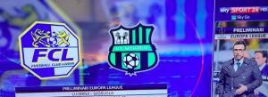 Sassuolo-Lucerna, streaming-diretta tv: dove vedere Europa League