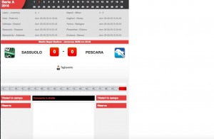 Sassuolo-Pescara diretta. Formazioni ufficiali - video gol highlights