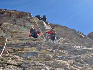 Guarda la versione ingrandita di Cervino, Jan Fryc precipita dalla scala Jordan e muore a 28 anni